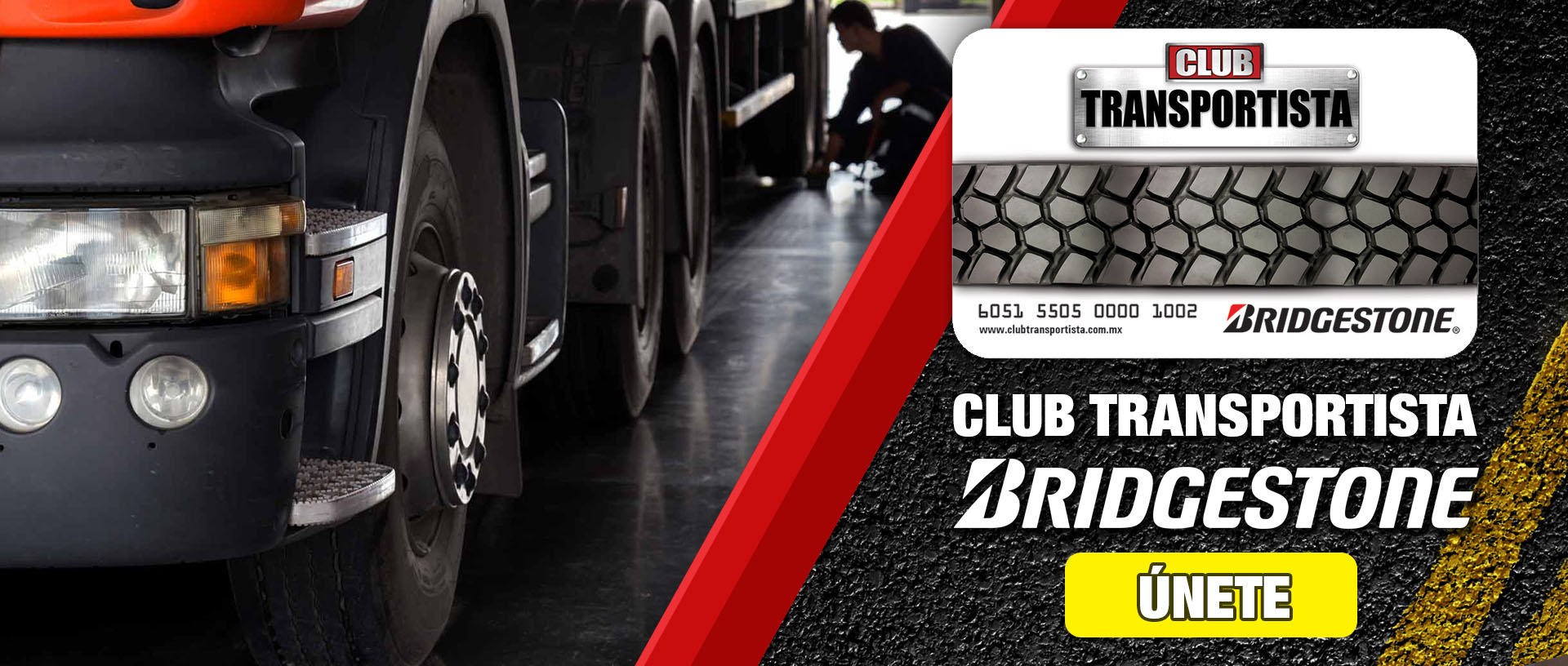 Club Transportista Bridgestone
